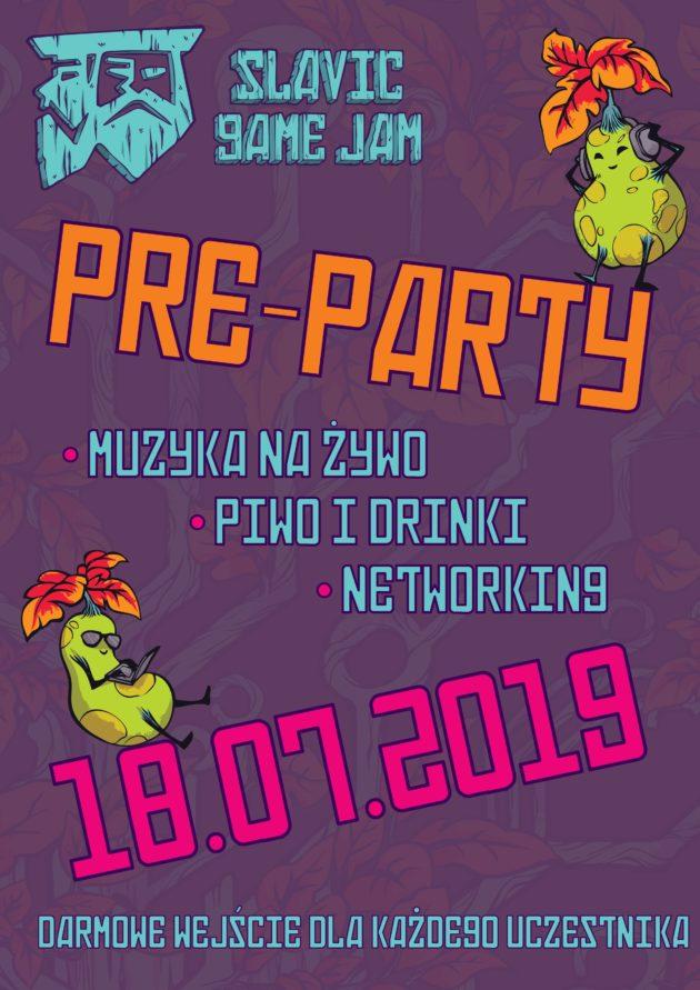 SGJ19 Pre-Party