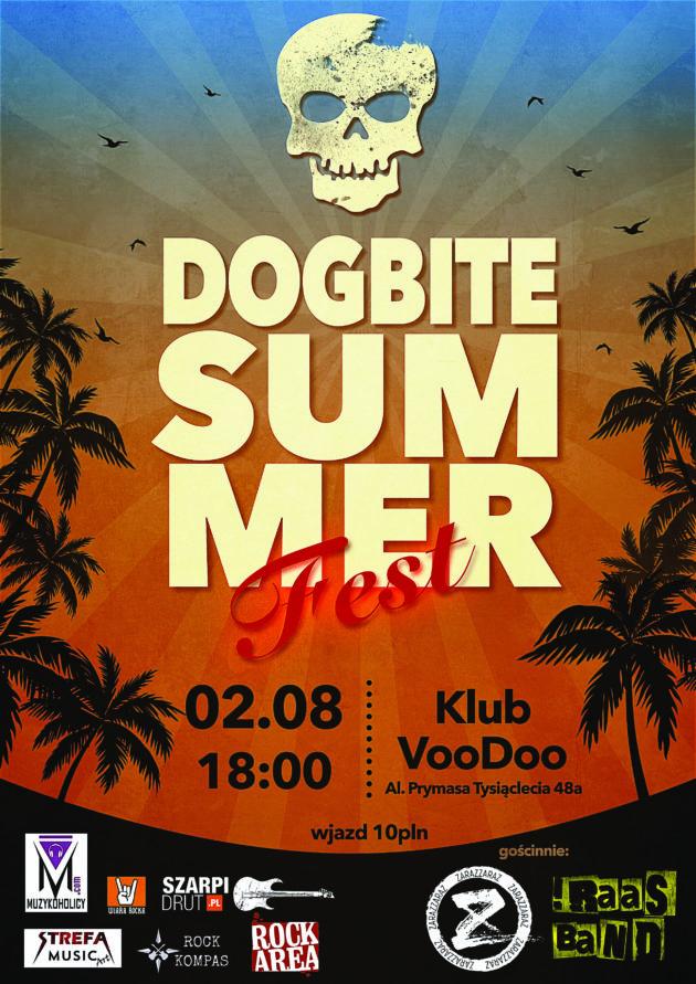 Dogbite Summer Fest III – Dogbite x IRAAS BAND x zaraZZaraz