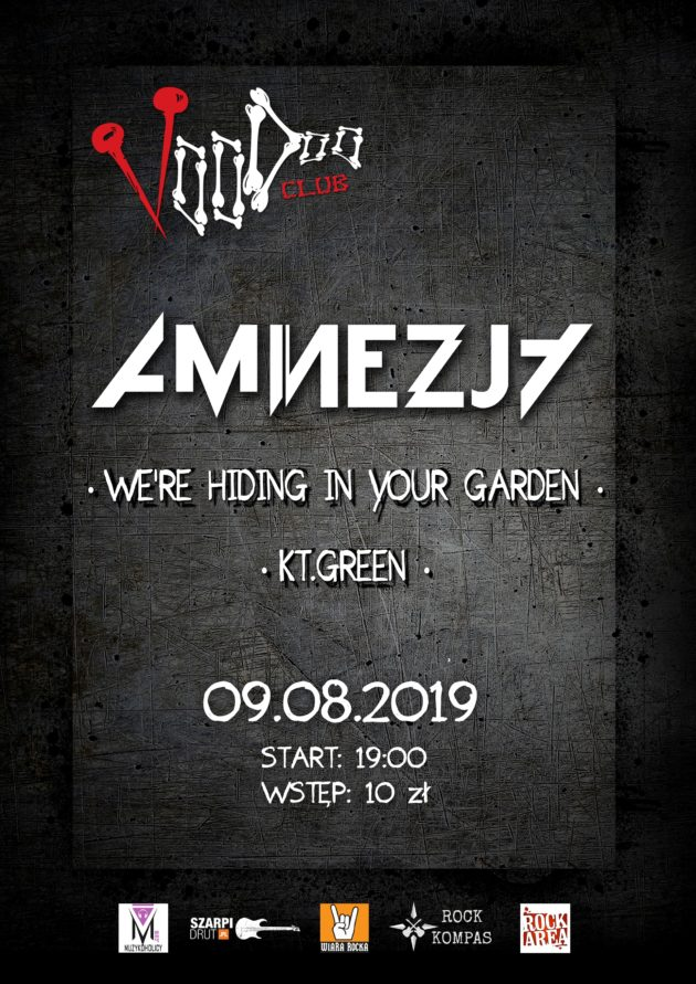 Letnia Scena VD – Amnezja, We're Hiding In Your Garden, KT.Green