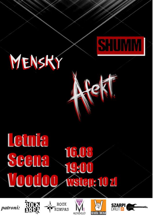 Letnia Scena Voodoo – Afekt x Mensky x Shumm