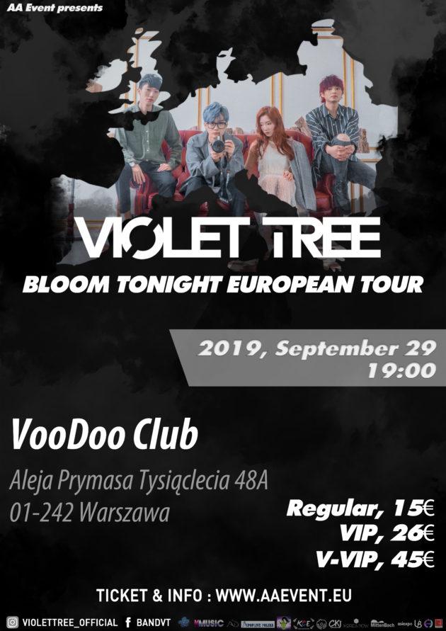 Violet Tree @Warsaw – Voodoo Club