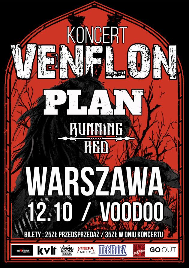Venflon + Plan i Running Red
