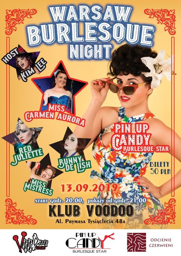 Warsaw Burlesque Night – Pin it Up!