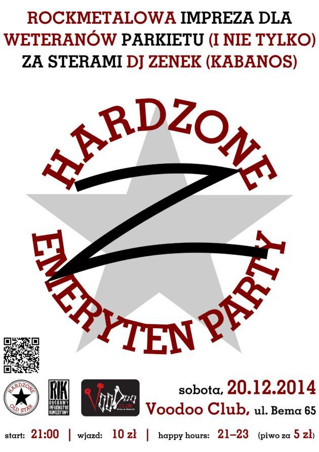 Hardzone Emeryten Party XVI: Z jak Zimowy Zenek