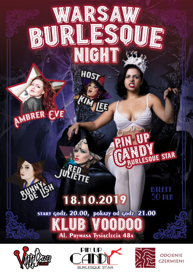 Warsaw Burlesque Night vol 21 – Halloween