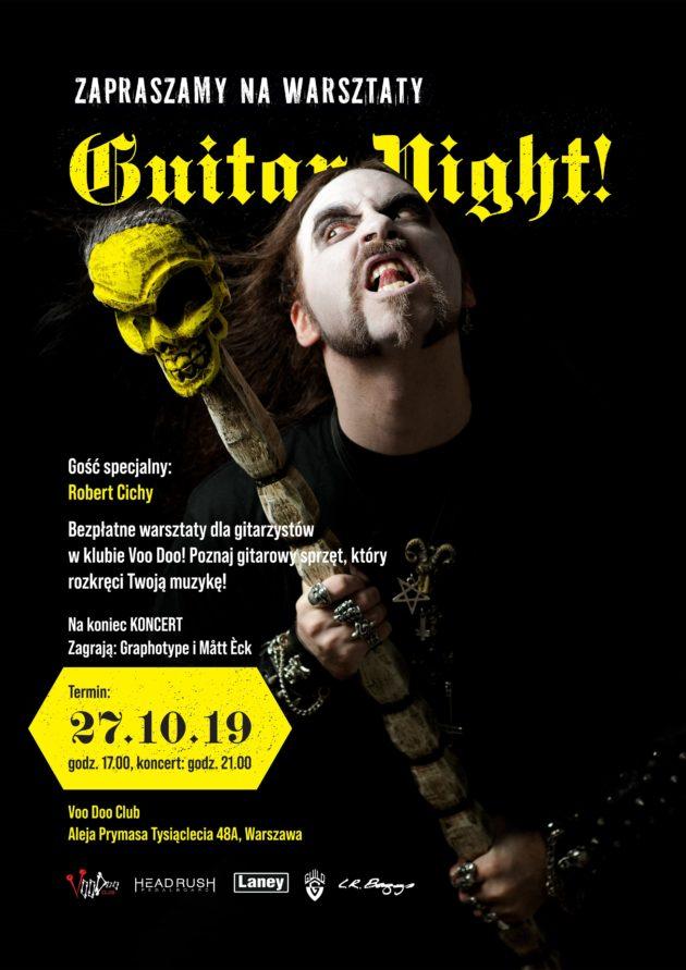 Warsztaty Guitar Night w klubie Voo Doo!