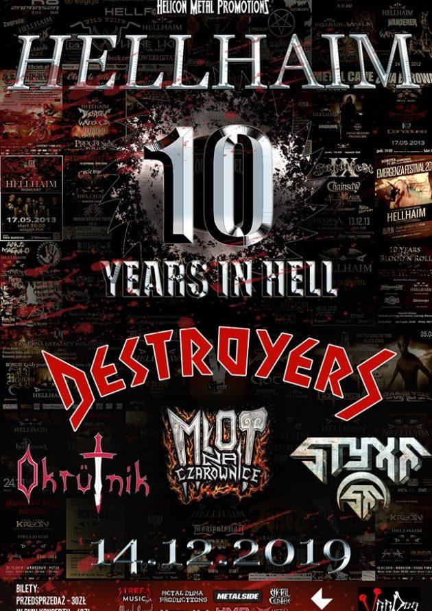10 Years in Hell: Hellhaim + goście