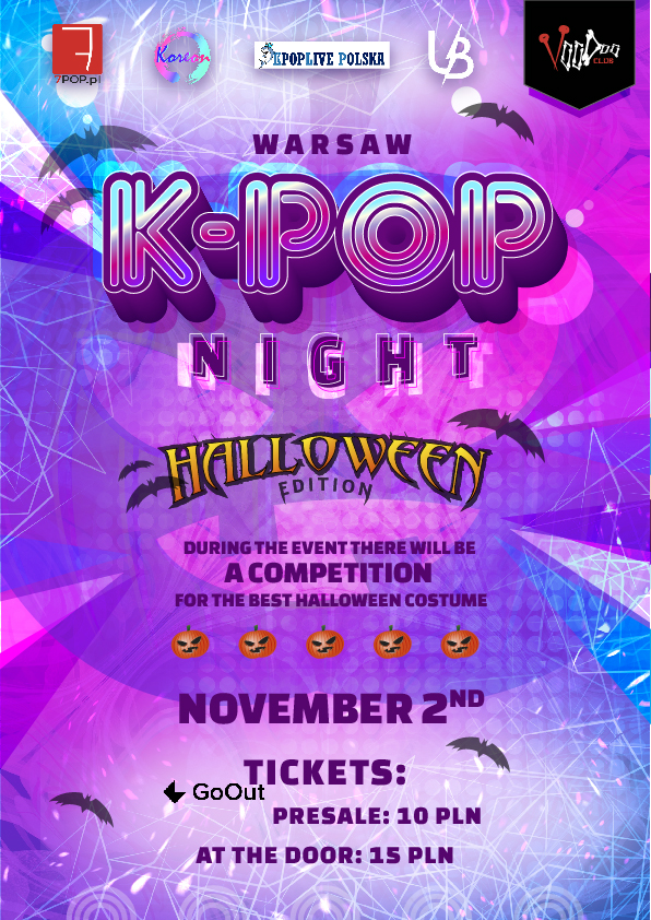 Warsaw K-POP night at VooDoo Club: Halloween Edition