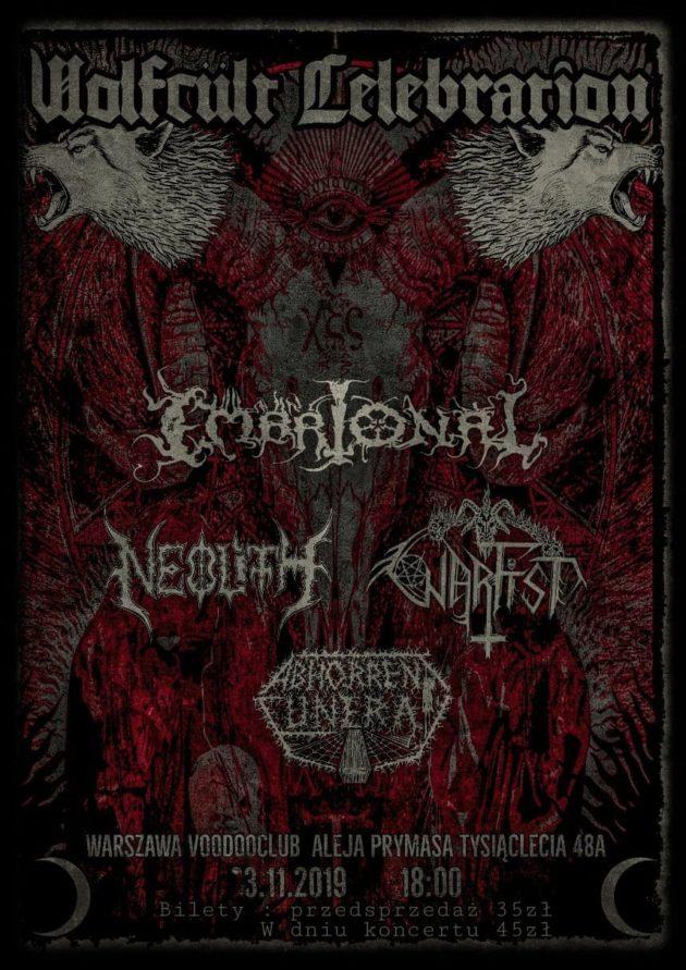 Wolfcült Celebration – Neolith x AF x Warfist x Embrional