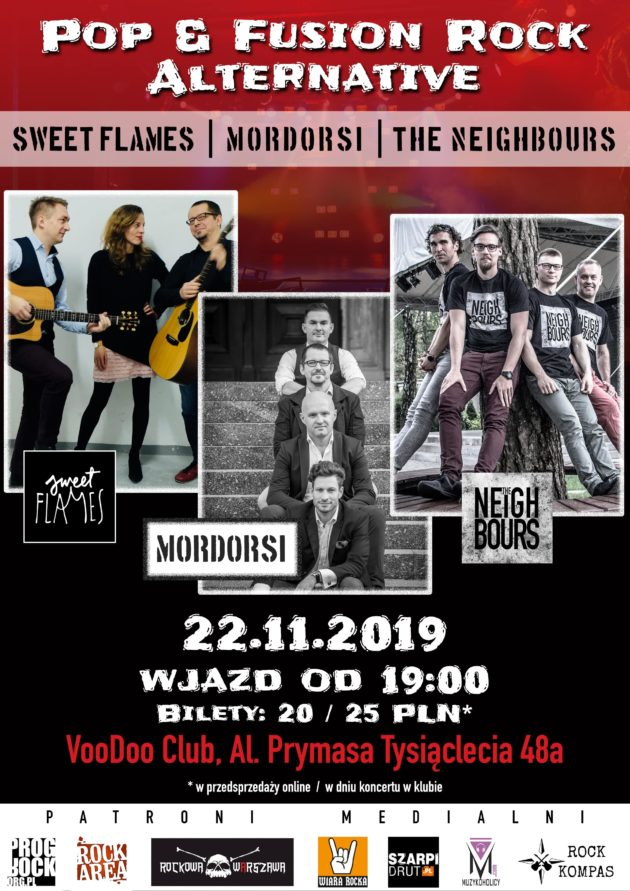 The Neighbours x Sweet Flames x Mordorsi