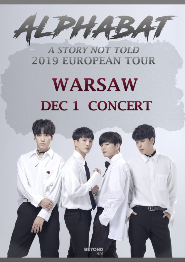 "Alphabat: 2019 European Tour ""A STORY NOT TOLD"" in Warsaw"