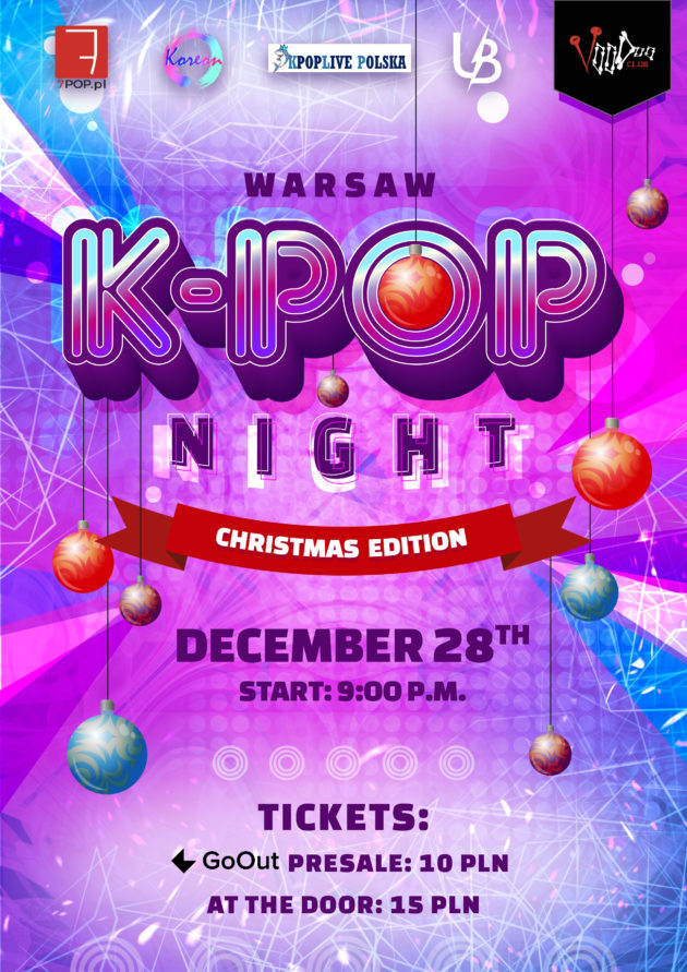 Warsaw K-POP night at VooDoo Club : Christmas Edition / 28.12 /