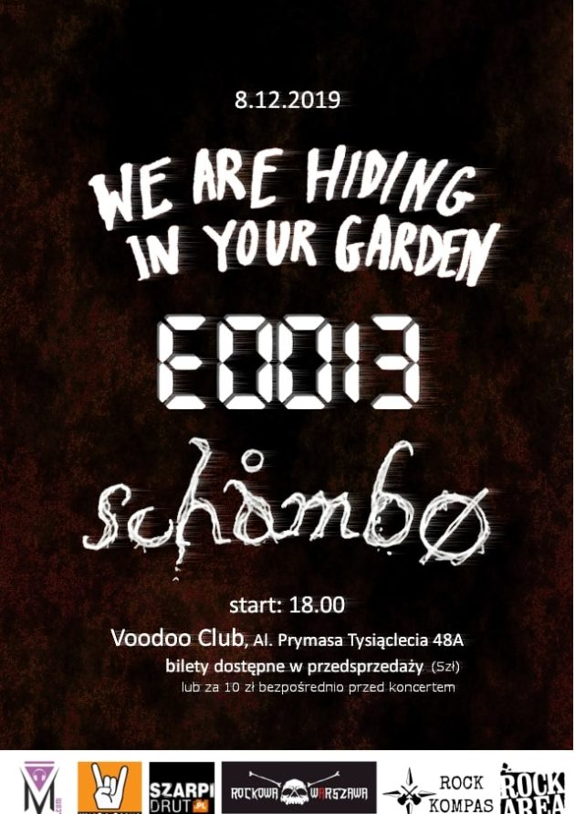 We're Hiding In Your Garden x Eddie x Schåmbø