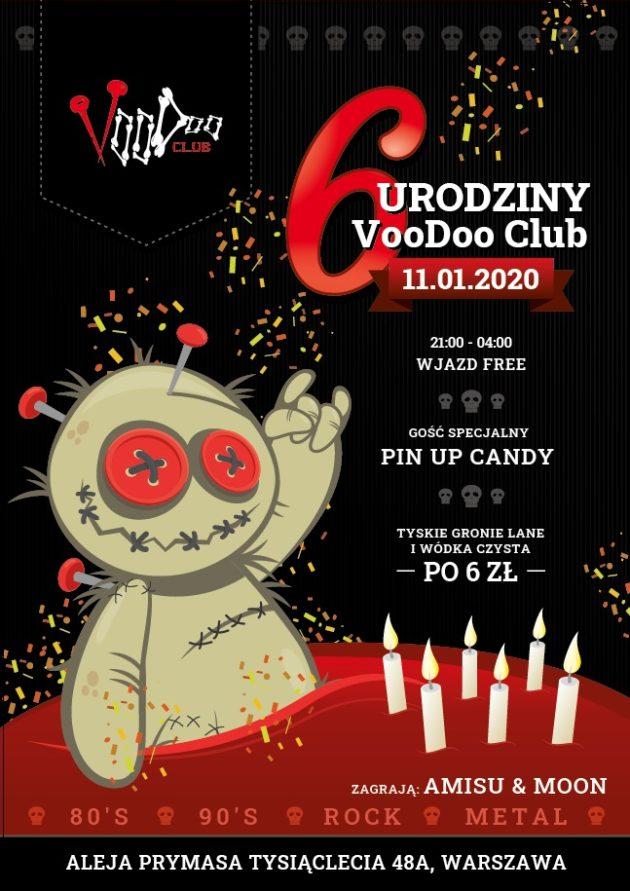 Szóste urodziny VooDoo Club