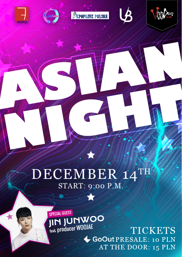 Asian Night at VooDoo Club / 14.12 / Special guest Jin Junwoo