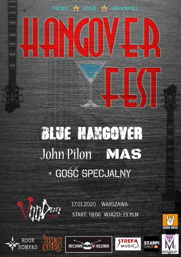 Hangover Fest Vol.1 – Blue Hangover x MAS x John Pilon Band