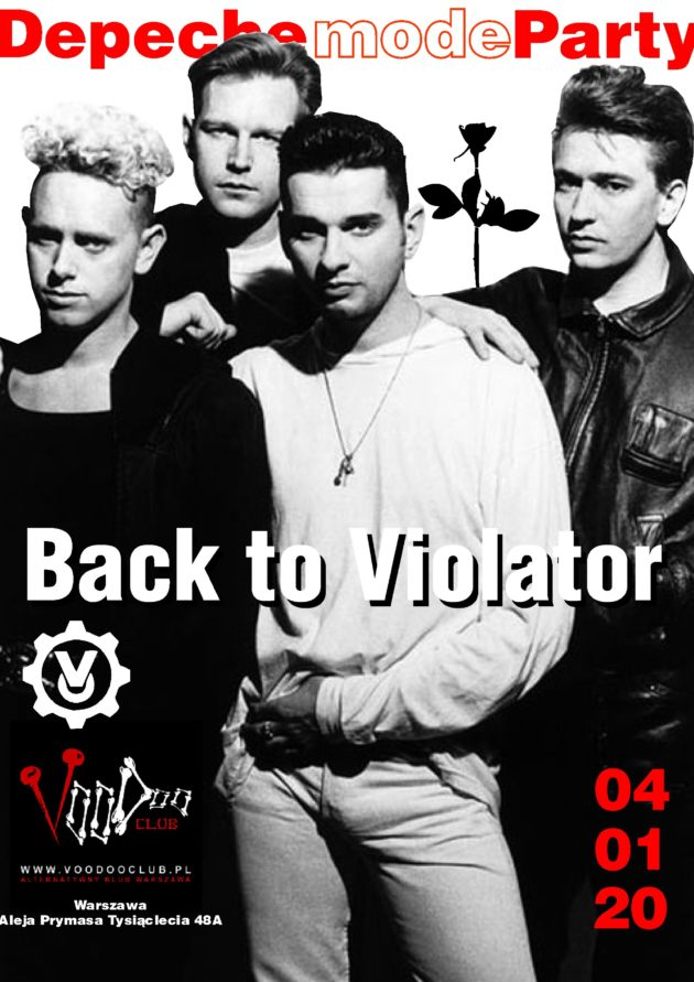 Depeche Mode Party – Back to Violator / 04.01 /