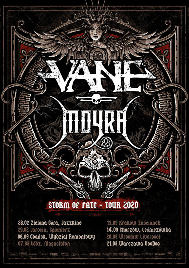 Storm of Fate Tour 2020 – Storm of Fate Tour 2020 – Vane x Moyra x Testor x The Burning Hands / Warszawa /