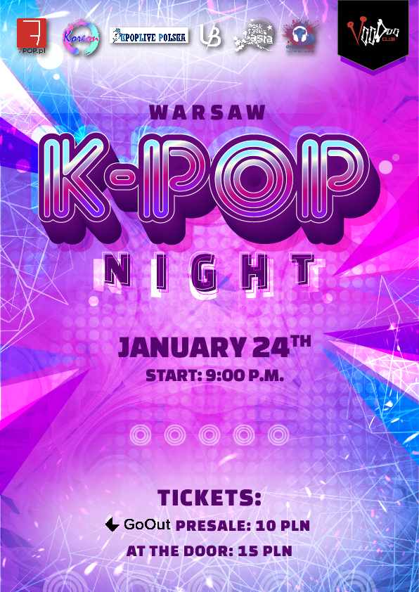 Warsaw K-POP night at VooDoo Club / 24.01 /