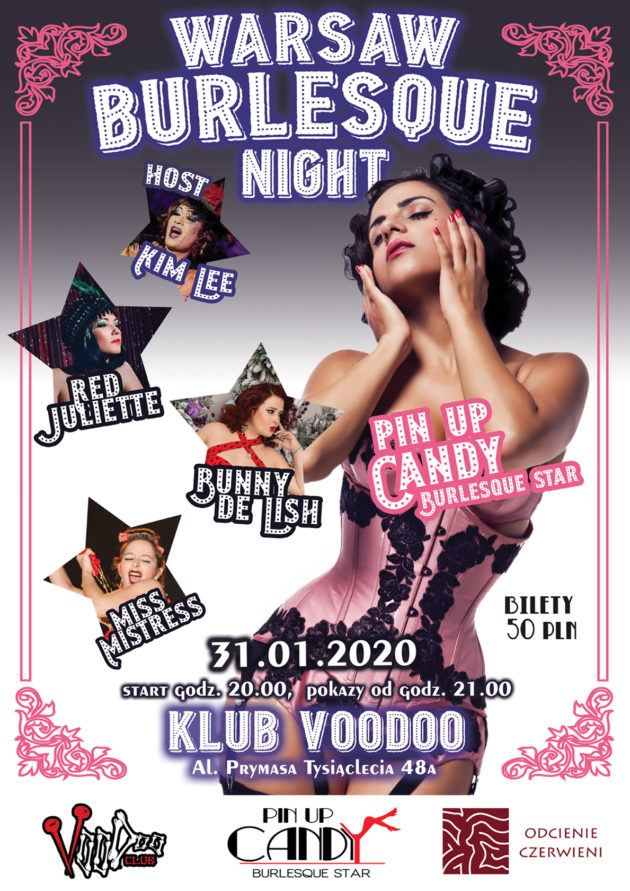 Warsaw Burlesque Night 31.01.2020