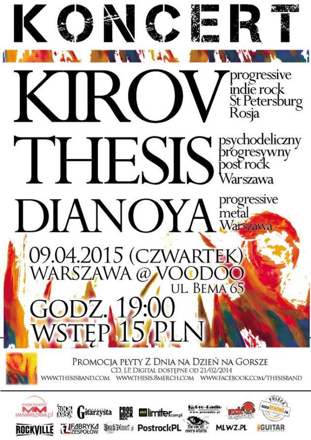 Kirov + Thesis + Dianoya
