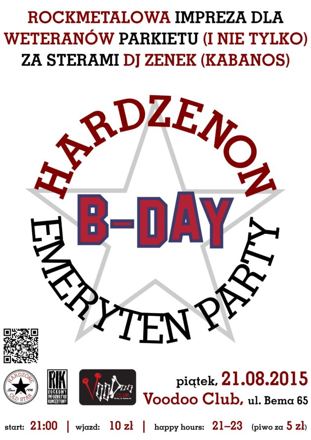 HardZenon Emeryten Party XXIV: b-day