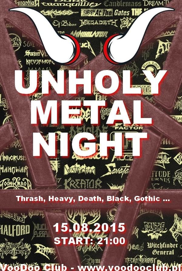 UNHOLY METAL NIGHT