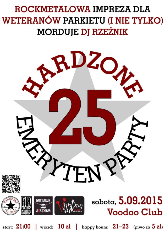 Hardzone Emeryten Party XXV