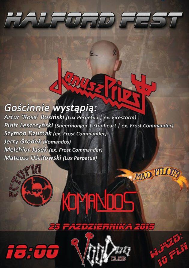 Koncert Janusz Priest w Warszawie!