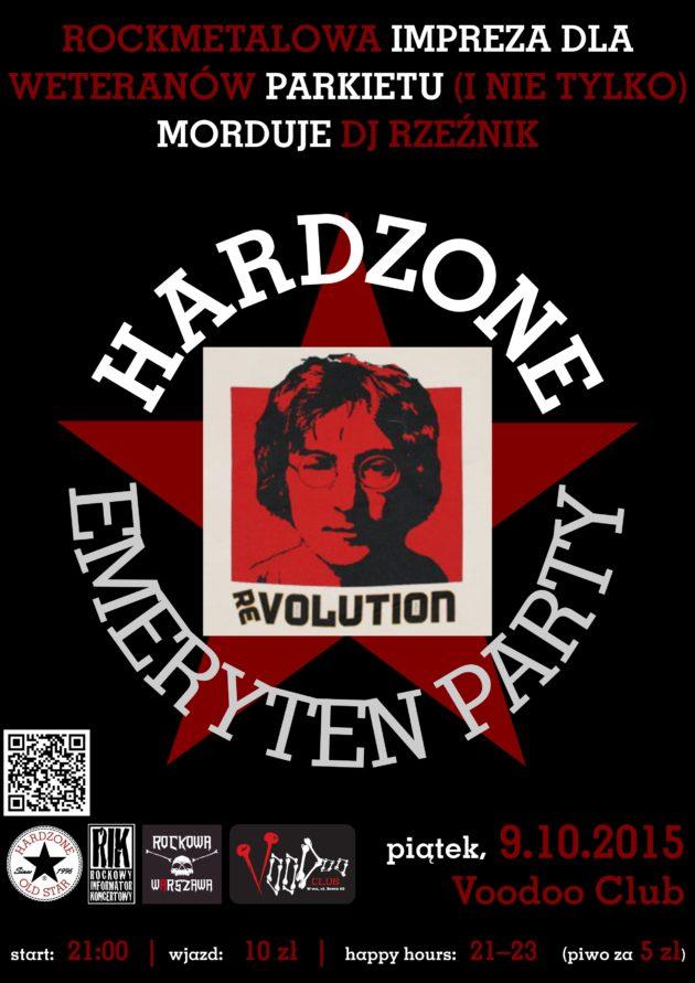Hardzone Emeryten Party XXVI: (r)ewolucja październikowa