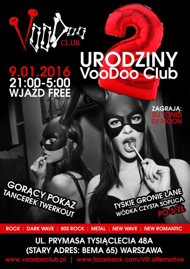 Drugie urodziny VooDoo Club