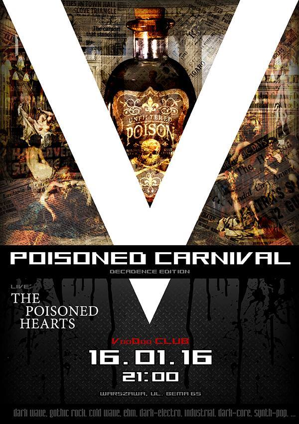 V-Poisoned Carnival + koncert The Poisoned Hearts