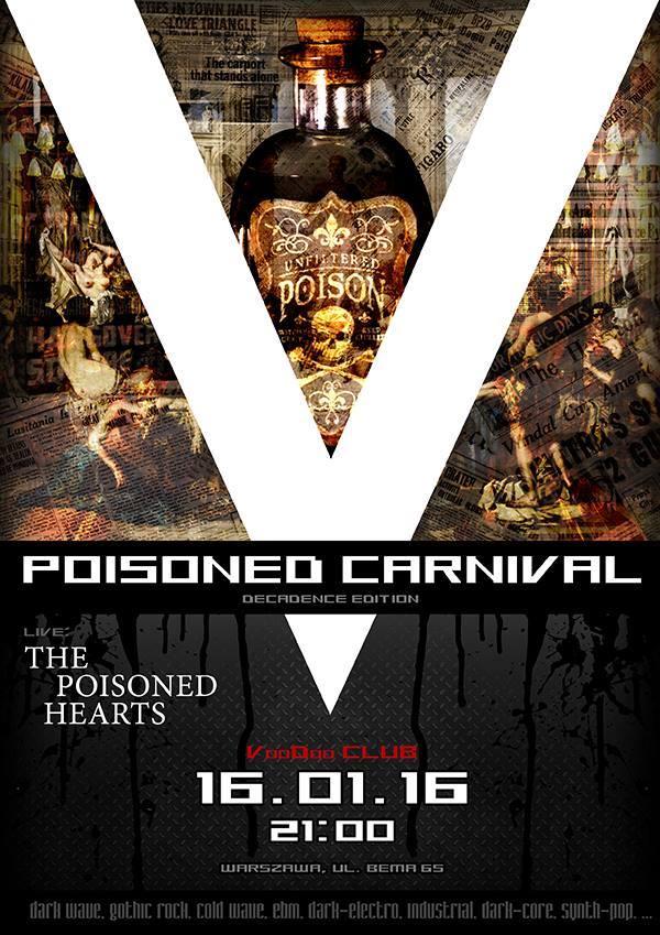 V-Poisoned Carnival + koncert The Poisoned Hearts