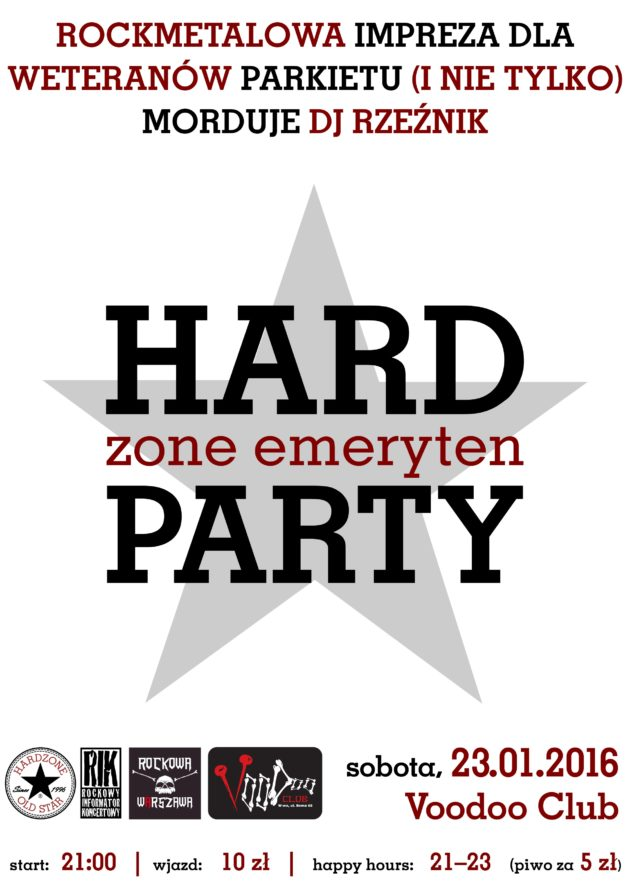 HARDzone emerytenPARTY XXIX