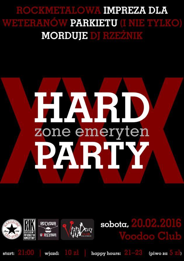 HARDzone emerytenPARTY XXX