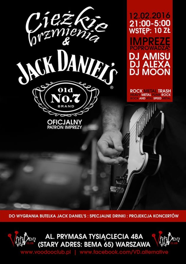 Ciężkie brzmienia & Jack Daniel's