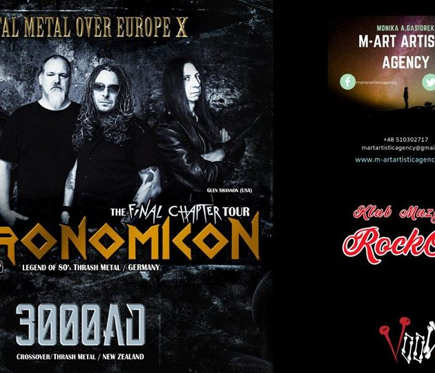 Necronomicon (GER) +supports – Total Metal Over Europa X