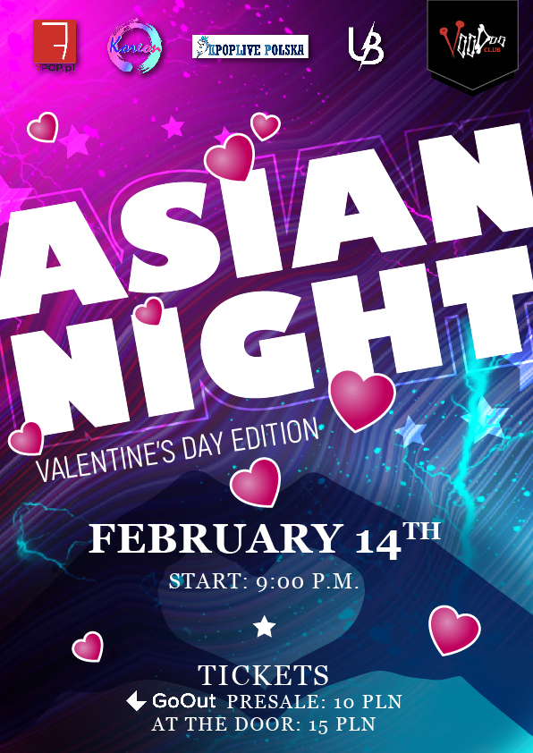 Asian Night at VooDoo Club / 14.02 / – Valentine's Day Edition