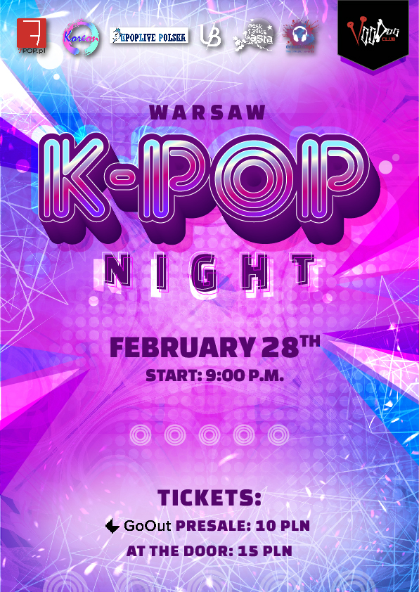 Warsaw K-POP night at VooDoo Club / 28.02 /