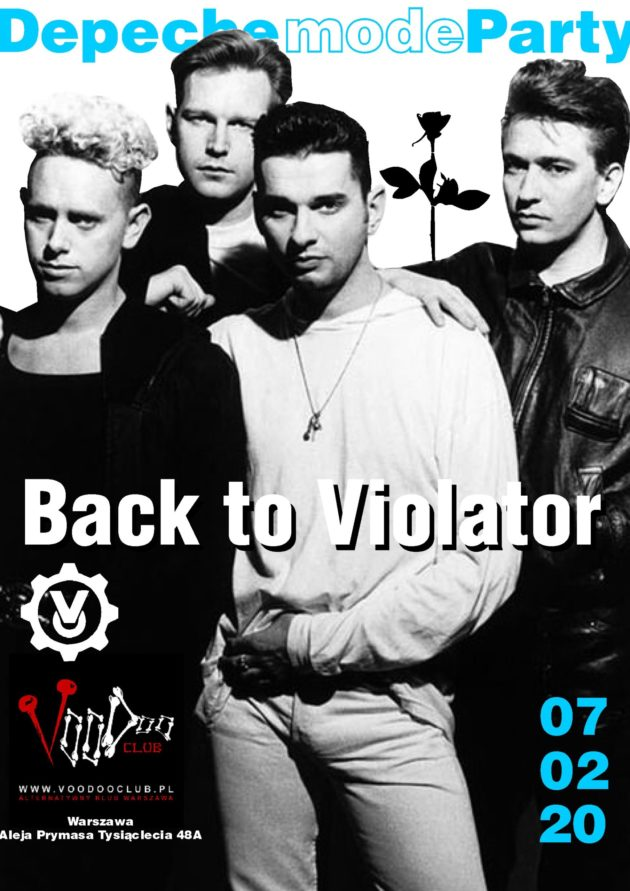 Depeche Mode Party – Back to Violator / 07.02 /