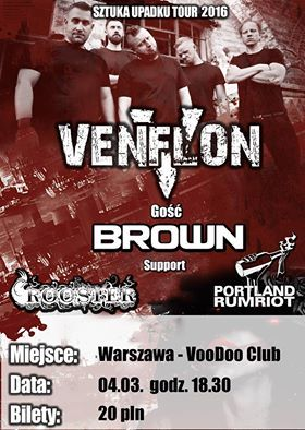VENFLON + BROWN + supporty