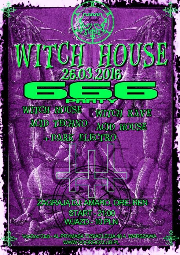 """666 Party – """" WITCH HOUSE """""""
