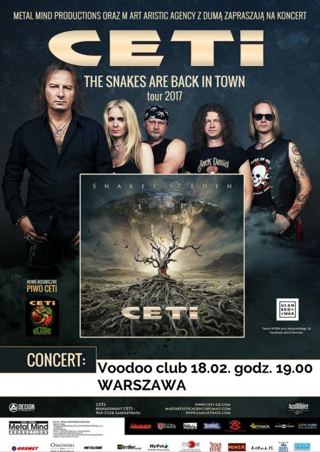 CETI – Snakes Are In Back In Town + Maszyna