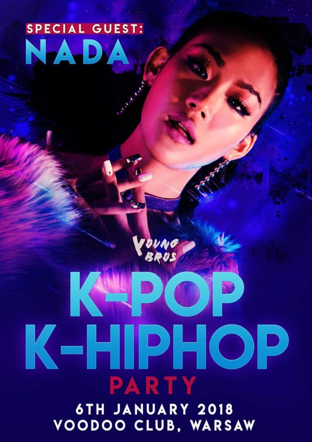 K-Pop & K-Hiphop Party x NADA x Young Bros in Warsaw