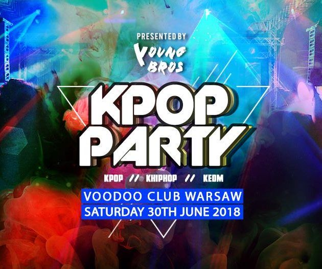 K-Pop & K-Hiphop Party x Young Bros in Warsaw