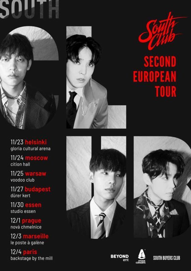 """South Club """"Second European Tour"""" in Warsaw"""