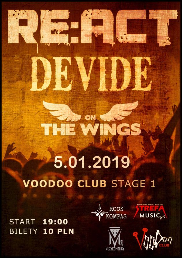 Re:act, Devide, On The Wings