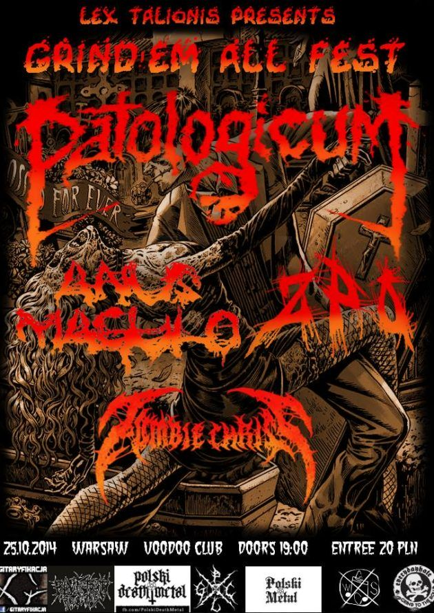 Grind'em All Fest (Incarnated + Anus Magulo + ZPO + Zombie Christ)