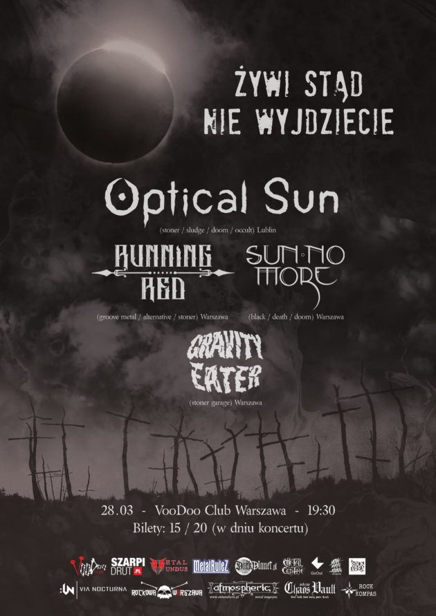 Optical Sun (Release Party) x Running Red x Sun No More x Gravity Eate
