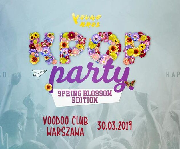 KPOP Party Warsaw x Spring Blossom